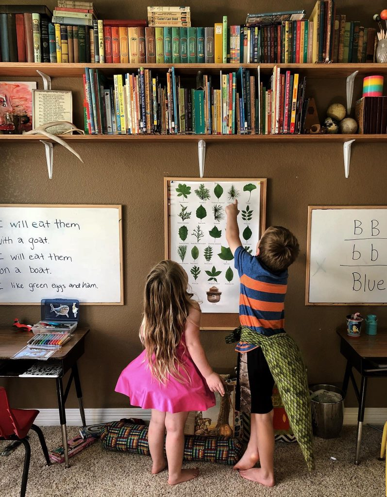 homeschool room preschool