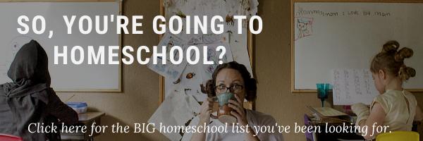 homeschool curriculum resources