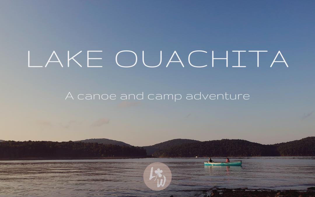Lake Ouachita Camping
