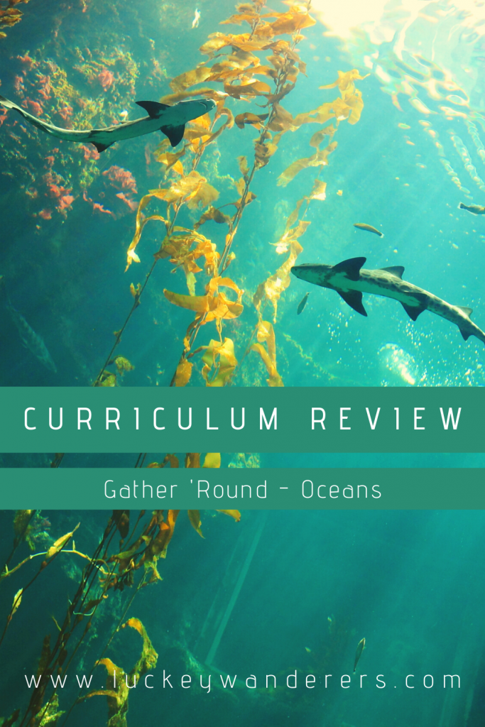 gather round oceans unit study homeschool